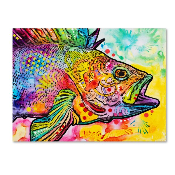 colorful 'Fish' Decorative Fish Art - nature decor - bold Fish Wall Decor