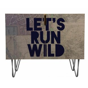 Lets Run Wild X Maps Accent Cabinet by East Urban Home