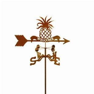 Welcome Pineapple Weathervane By EZ Vane Inc