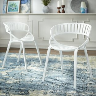 Nimitz Stacking Patio Dining Chair (Set of 2)