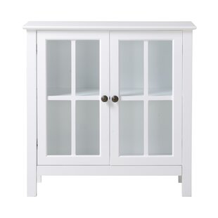Glass 2 Door Accent Cabinet