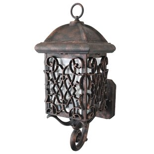Affordable Penfield 1-Light Outdoor Sconce By Alcott Hill