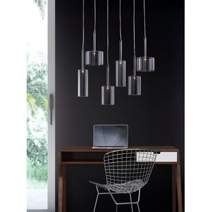 Hale 6-Light Pendant by dCOR design