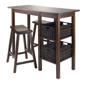 Weldon 5 Piece Pub Table Set by Red Barre..