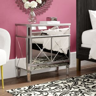 Nicci 2 Door Accent Cabinet by House of Hampton