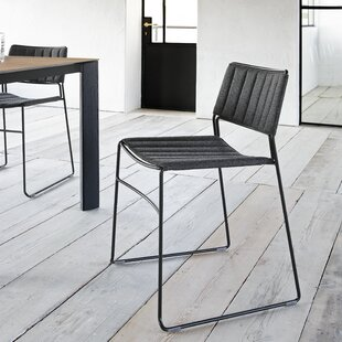 Slim Upholstered Dining Chair by Midj