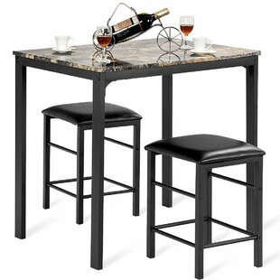 Mitzel 3 Piece Dining Set