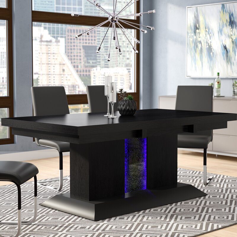 Orren Ellis Tacconi Dining Table & Reviews | Wayfair