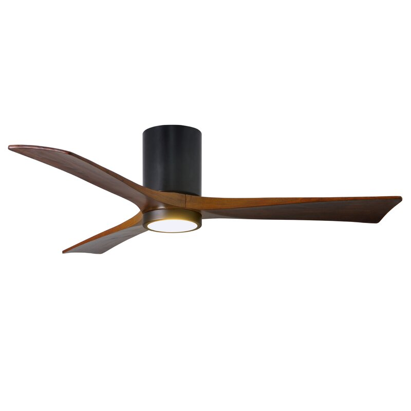 "Wade Logan 52"" Rosalind 3 Blade Hugger Ceiling Fan With"