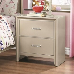 Enya 2 Drawer Nightstand by Willa Arlo Interiors