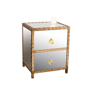 Mercer41 Lakeview 2 Drawer Nightstand