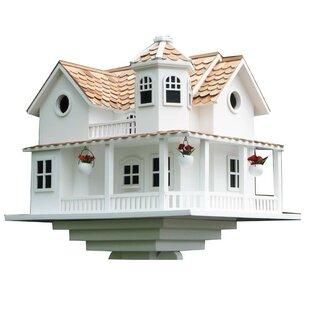Home Bazaar Signature Series 'Post Lane' Cottage 12 in x 16 in x 12 in Birdhouse