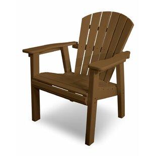 Seashell Casual Plastic Adirondack Chair by POLYWOOD?