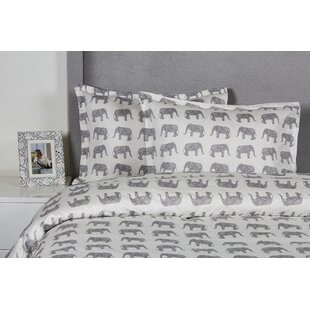 Silsbee Elephant Duvet Cover Set