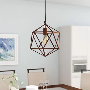 Wrought Studio Alrai Wire 1-Light Pendant