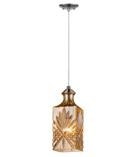 PL Series 1-Light Square/Rectangle Pendant by InFurniture