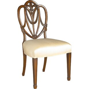 Carved Upholstered Dining Chair by Maitla..