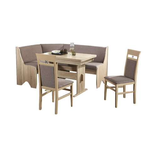 Eckbankgruppe Nalley mit 2 Stühlen Rosalind Wheeler | Küche und Esszimmer > Essgruppen > Eckbankgruppen | Rosalind Wheeler