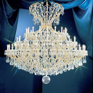 Classic Lighting Maria Thersea 72-Light Empire Chandelier