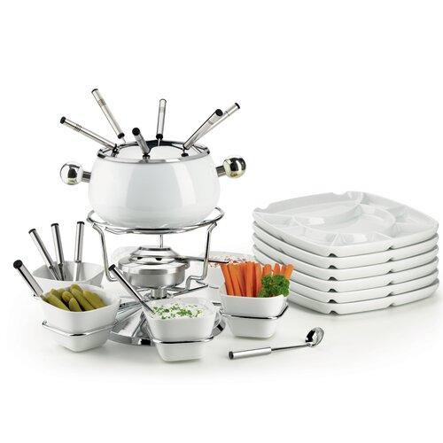 2 L Fondue-Set aus Edelstahl ClearAmbient | Küche und Esszimmer > Küchengeräte > Fondue | ClearAmbient