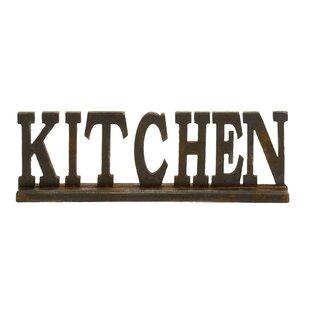 Kitchen Sign 2 Statue