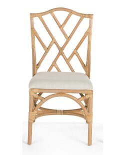 Bayou Breeze Margrett Rattan Side Chair (Set of 2)