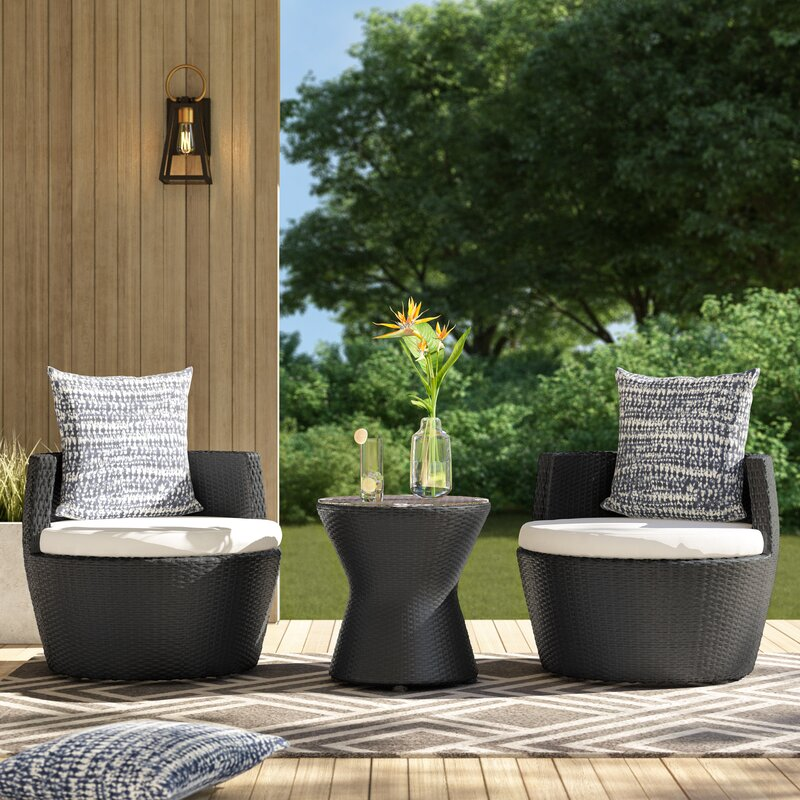 Collingswood 3 Piece Seating Group with Cushions