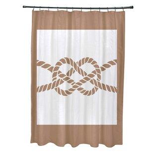 Hancock Nautical Knot Geometric Single Shower Curtain