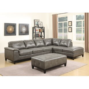 Van Reipen Sectional with Ottoman