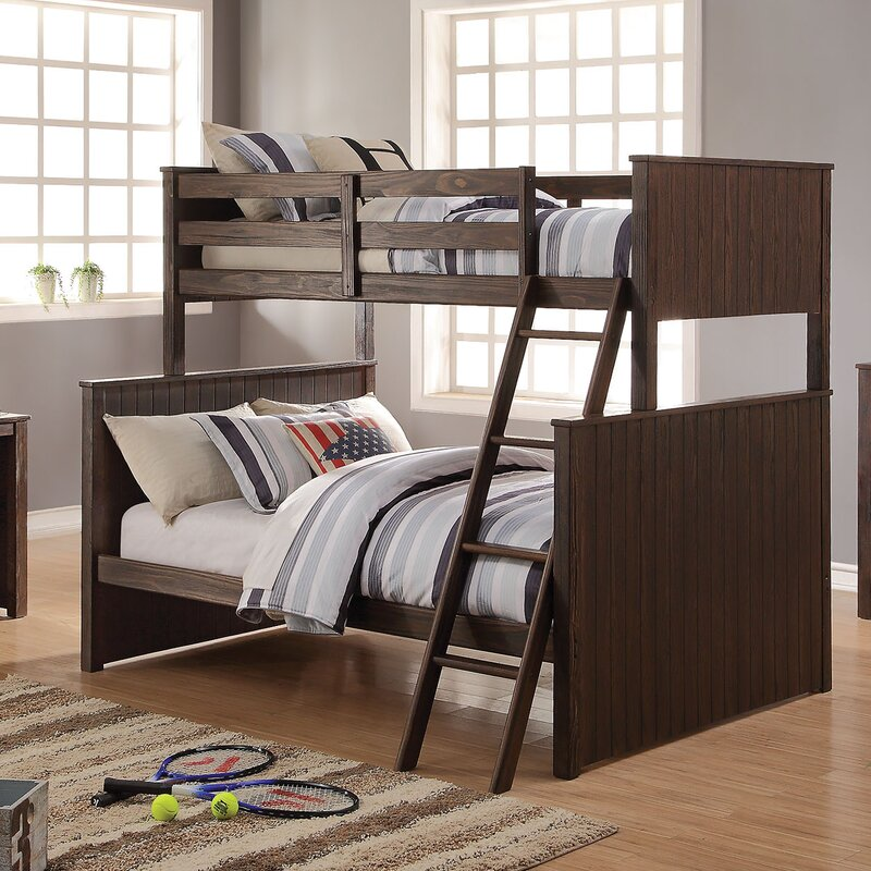 ACME Furniture Hector Twin Over Full Bunk Bed Configurable Bedroom ...