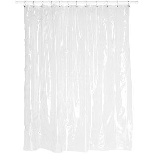 Vinyl Single Shower Curtain By Symple Stuff