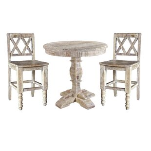 Cummings 3 Piece Pub Table Set