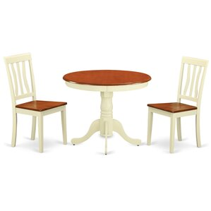 Appleridge Antique 3 Piece Dining Set