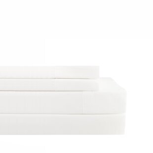 Hileman 300 Thread Count Percale Fitted Sheet