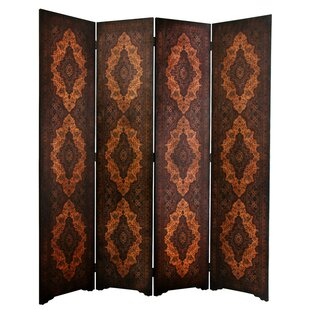 Clair 4 Panel Room Divider by World Menagerie