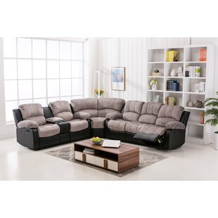Anaheid Reclining Sectional Zipcode Design