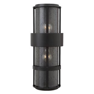 Read Reviews Saturn 2-Light Outdoor Sconce By Hinkley Lighting