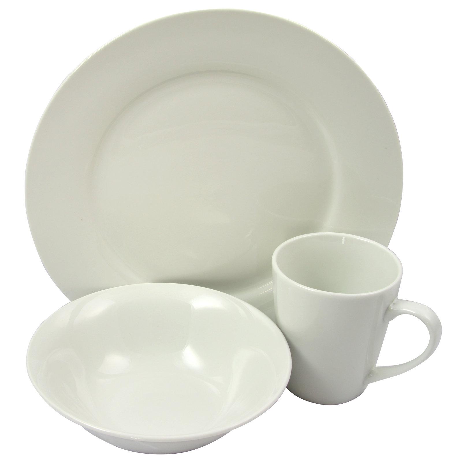 Alcott Hill Jeff 12 Piece Dinnerware Set Service For 4 Wayfair