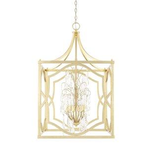 Willa Arlo Interiors Destrey Traditional 6-Light Foyer Pendant