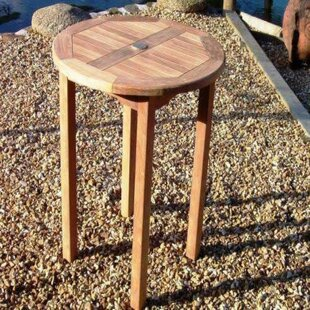Izzy Teak Bistro Table By Sol 72 Outdoor