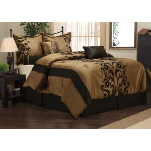 Helda 7 Piece Comforter Set