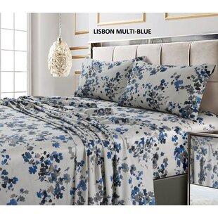 Brayden Studio Great Jones 300 Thread Count 100% Cotton Sheet Set