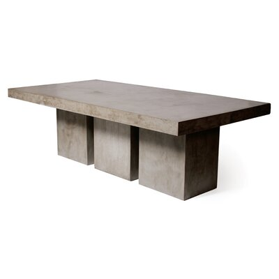 Tuscan Concrete Dining Table by Seasonal Living Design
