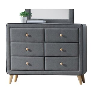 Minnesota 6 Drawer Double Dresser