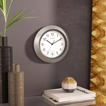 Breakwater Bay Mazza Wall Clock Reviews Wayfair