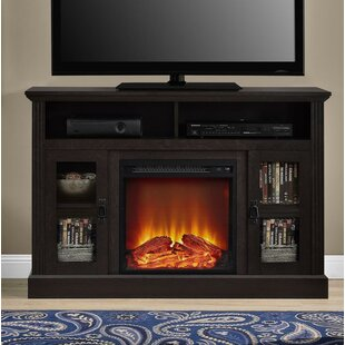 Rosier TV Stand for TVs up to 50 with Fireplace by Darby Home Co