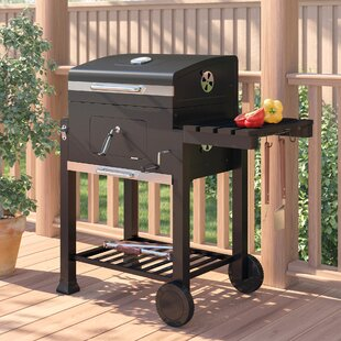 41.6cm Portable Charcoal Barbecue By Symple Stuff