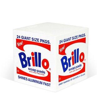 Quinze & Milan Brillo Cube Ottoman