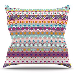 Ayasha By Nika Martinez Outdoor Throw Pillow by East Urban Home