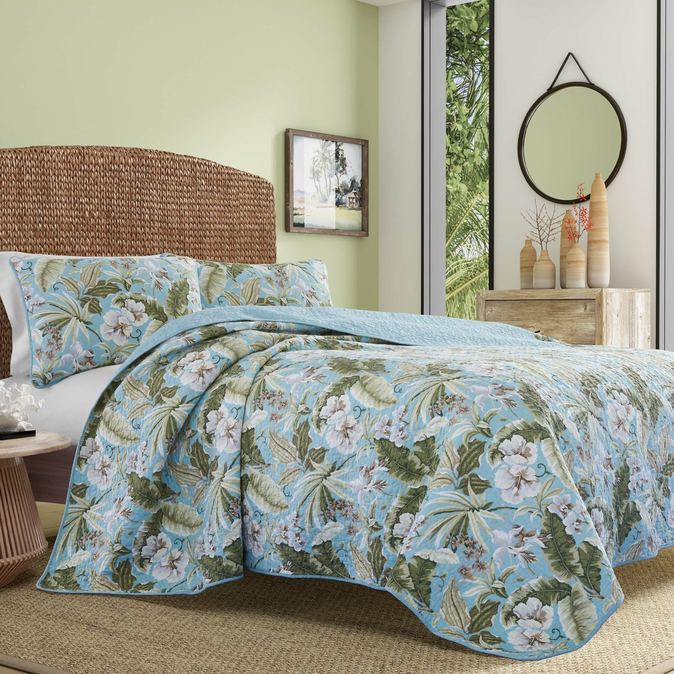 Tommy Bahama Home Key Largo Place Quilt Set by Tommy Bahama Bedding ...
